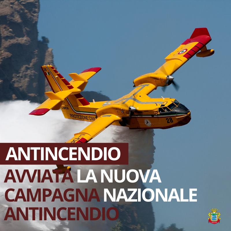 Campagna antincendio: Emessa nuova Ordinanza di ...