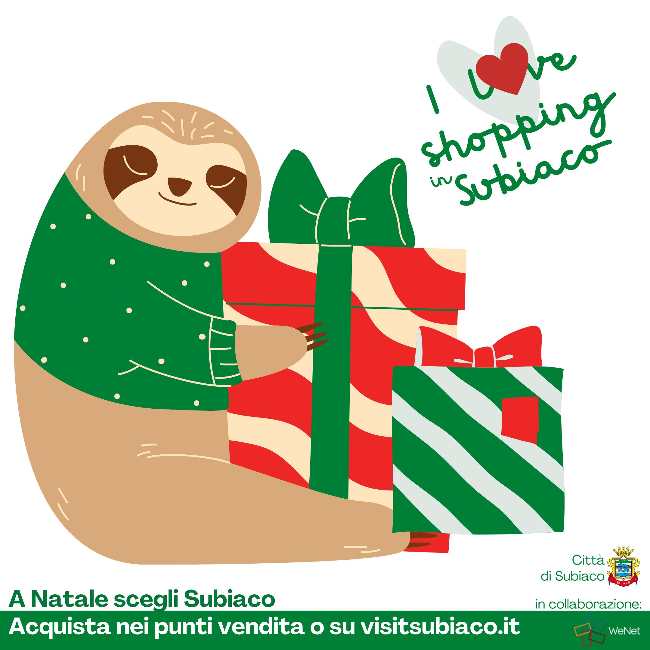 Natale nel Borgo: #ILoveShoppingInSubiaco - Città di ...